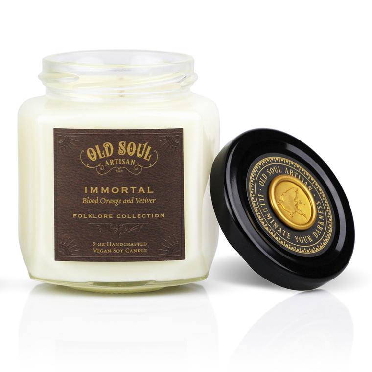 Immortal - 9 ounce soy candle