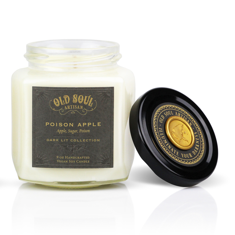 Poison Apple - 9 ounce soy candle
