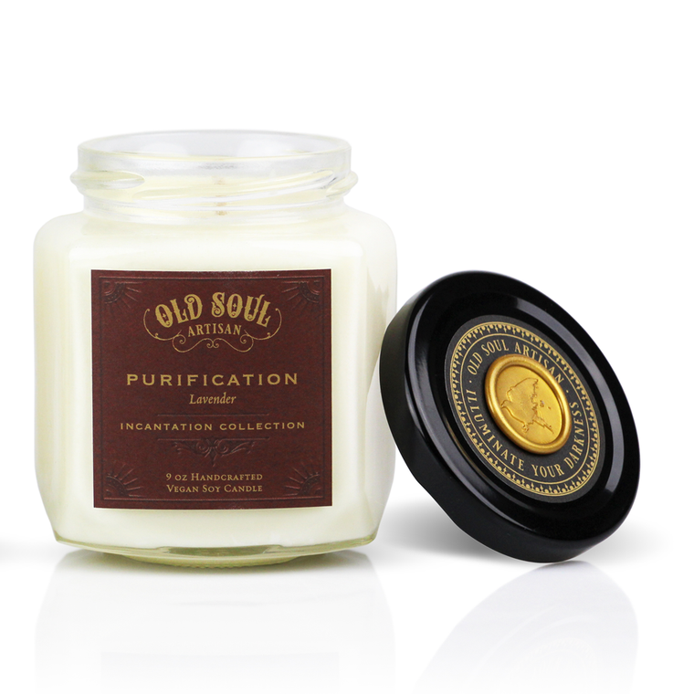 Purification - 9 ounce soy candle