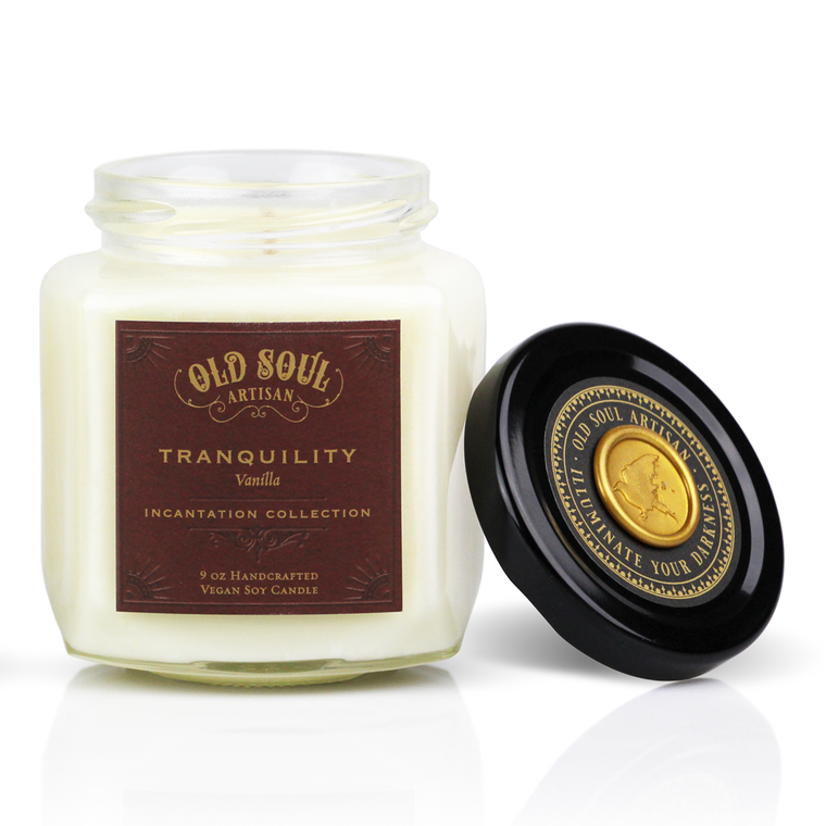 Tranquility - 9 ounce soy candle