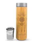 16.9oz GRATITUDE Bamboo Water Bottle