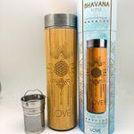 16.9oz LOVE Bamboo Water Bottle