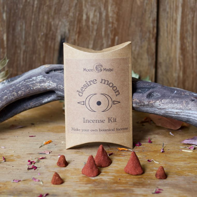 Desire Moon Incense kit, DIY cones