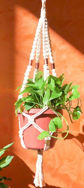 Macrame Plant Hanger - Athena