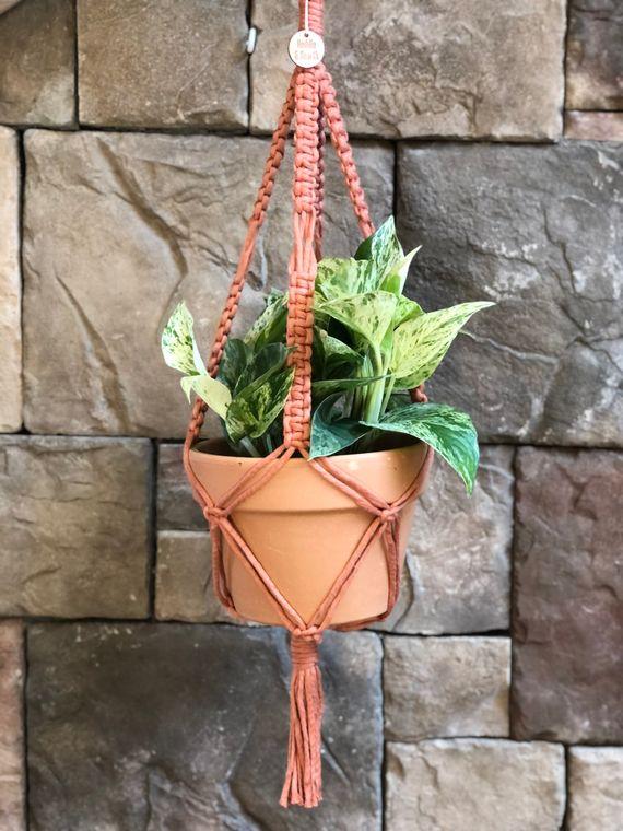 "Macrame 4"" - 6"" Pot Plant Hanger"