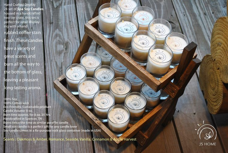 Spa Soy Candles