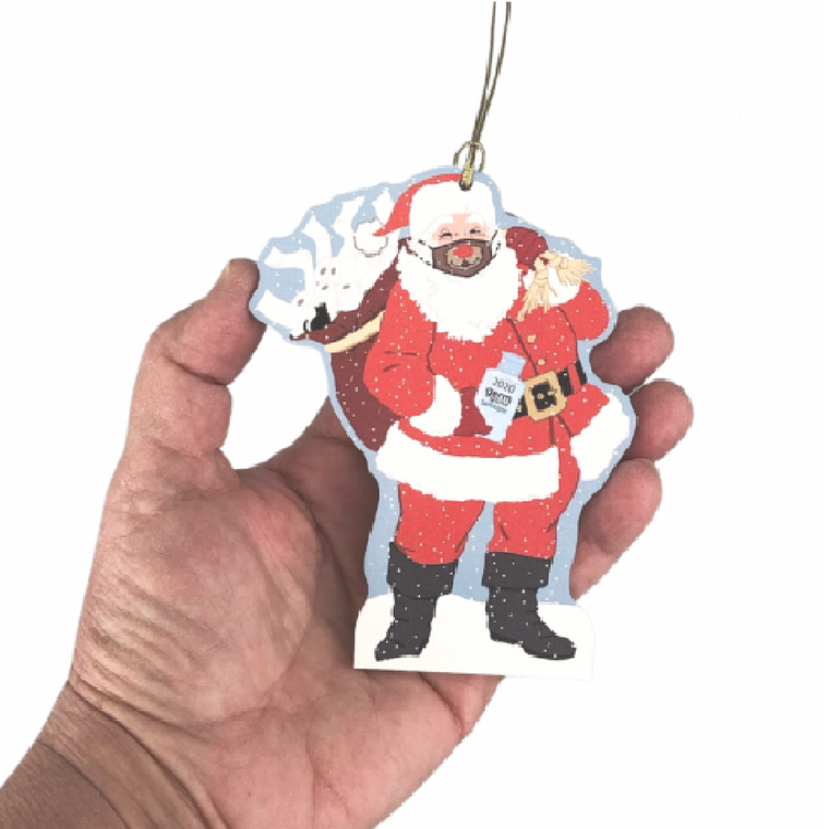 Special Delivery Santa 2020 Ornament