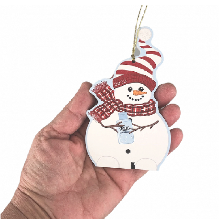 Snowman of the Year 2020 Ornament