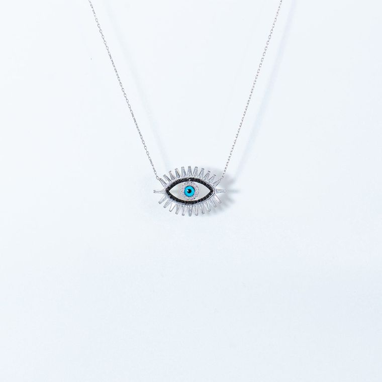 Evil Eye Statement Necklace