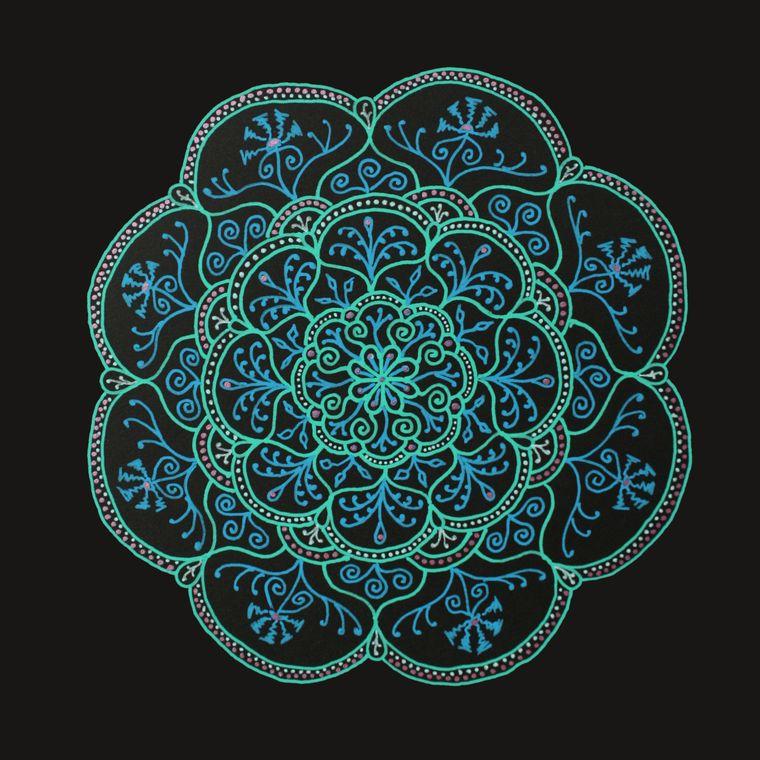 Amaris Mandala Giclée Print