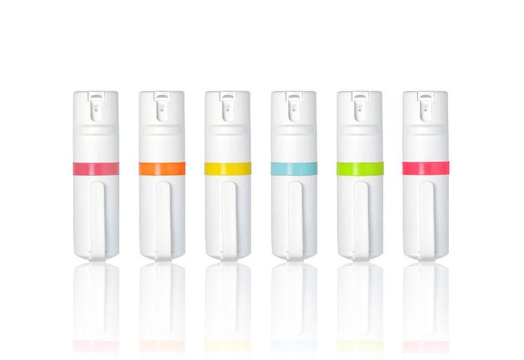 POM Pepper Spray Clip - White