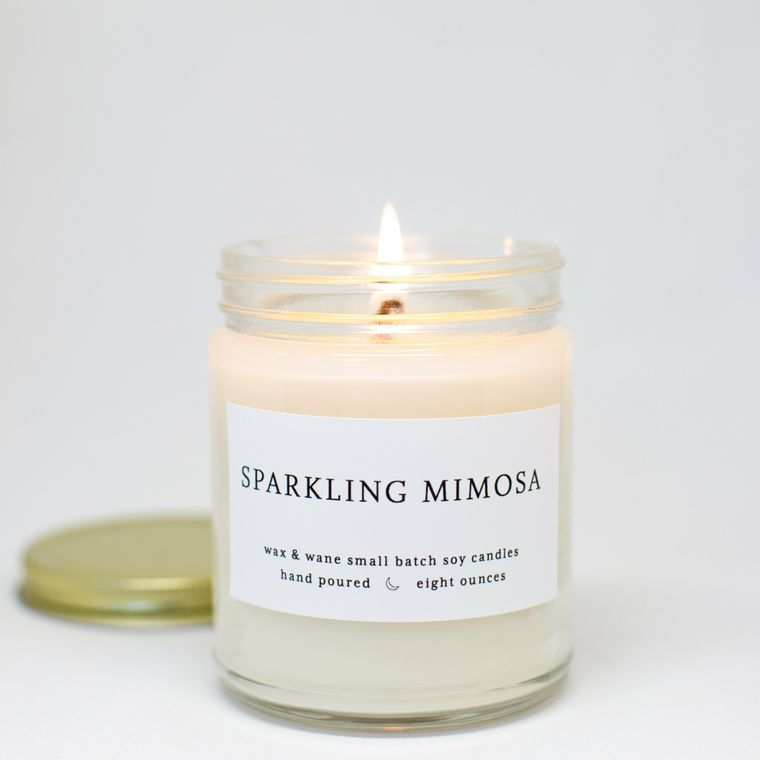 Sparkling Mimosa 8 Oz Modern Soy Candle