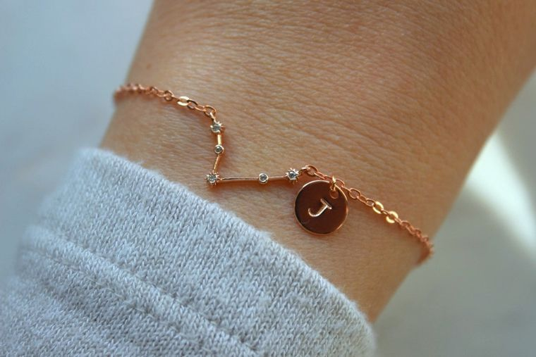 Aries, Constellation Skies, Aries Constellation, Aries Bracelet, Personalized Bracelet, Horoscope Bracelet, Birthday Gift, Zodiac Jewelry