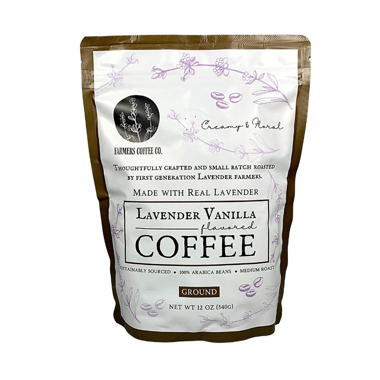 Lavender Vanilla Coffee