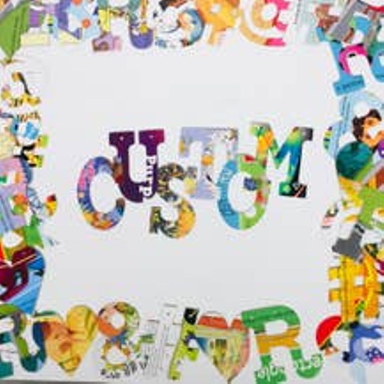 Phrase Garland - Custom Phrase Up To 15 Letters