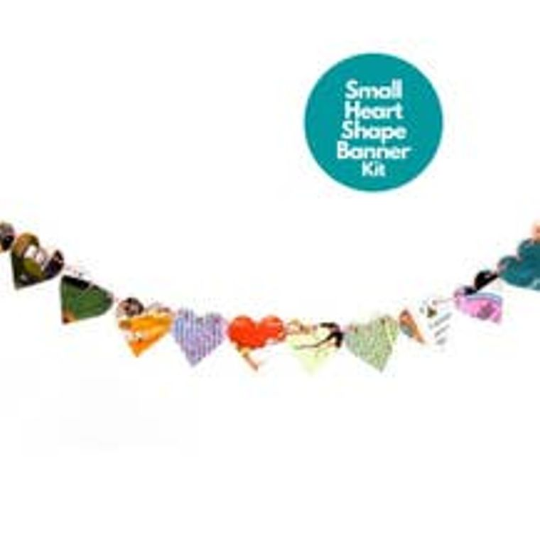 Shape Garlands- Heart