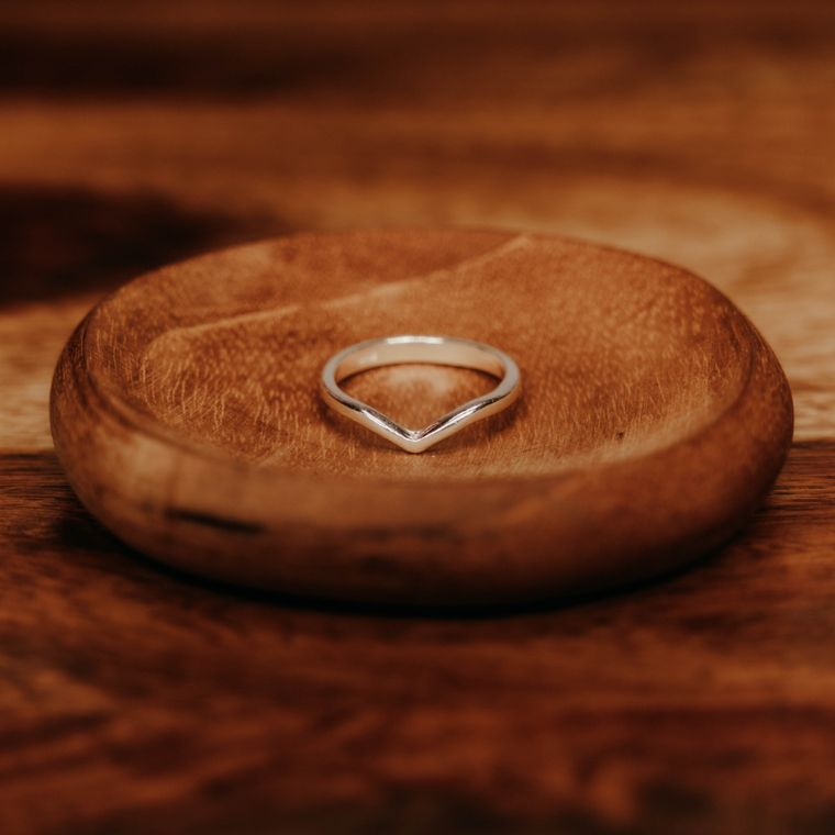 Dune Ring - Sterling Silver