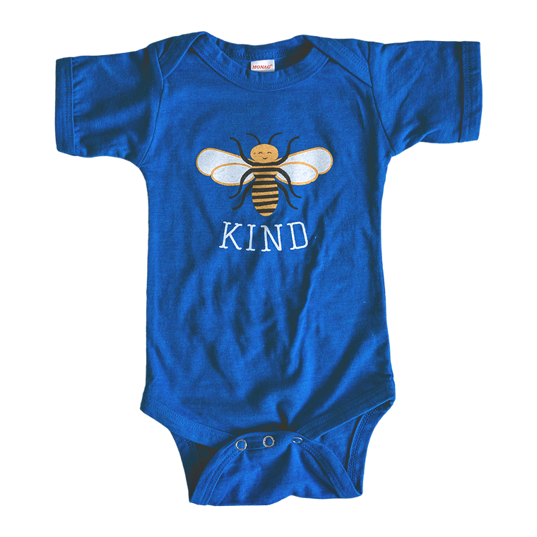 Bee Kind baby bodysuit