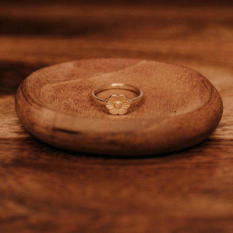 Fleur Ring - Brass
