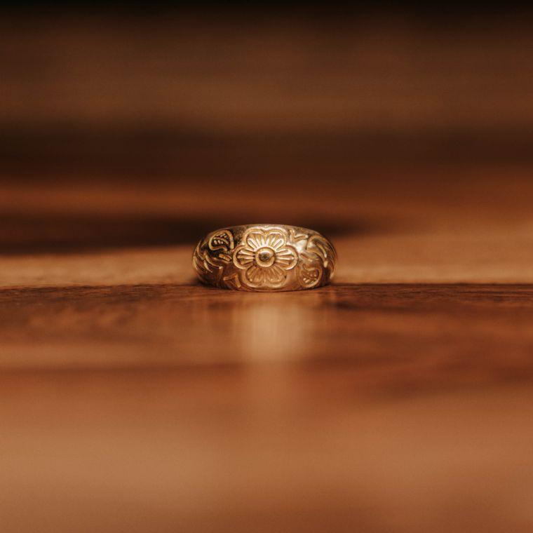 Market Ring - Brass