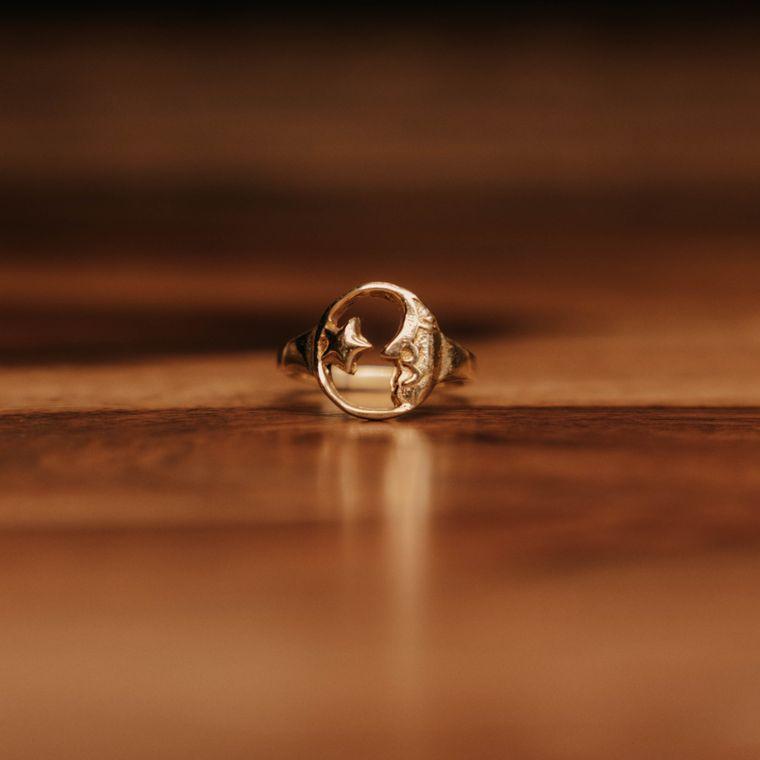 Dream Weaver Ring - Brass