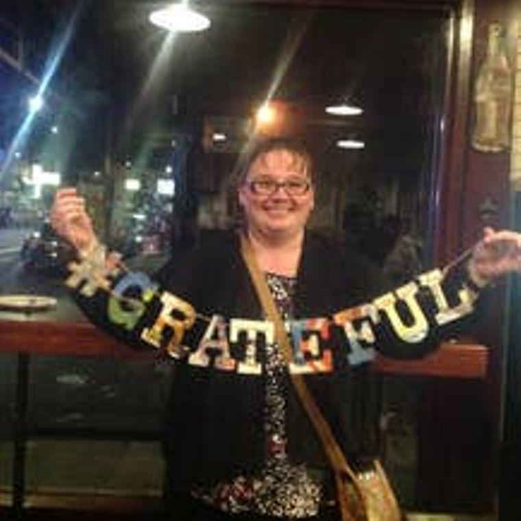 Phrase Garlands-  Grateful