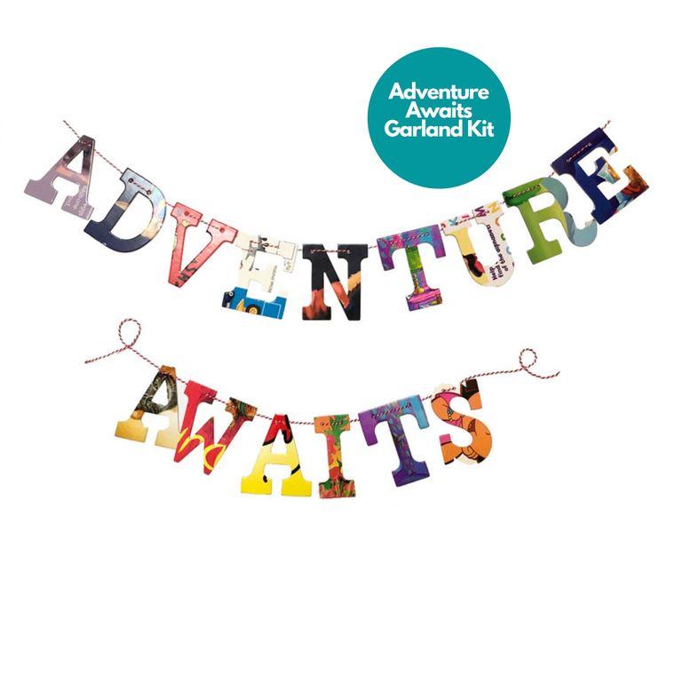 Phrase Garlands- Adventure Awaits