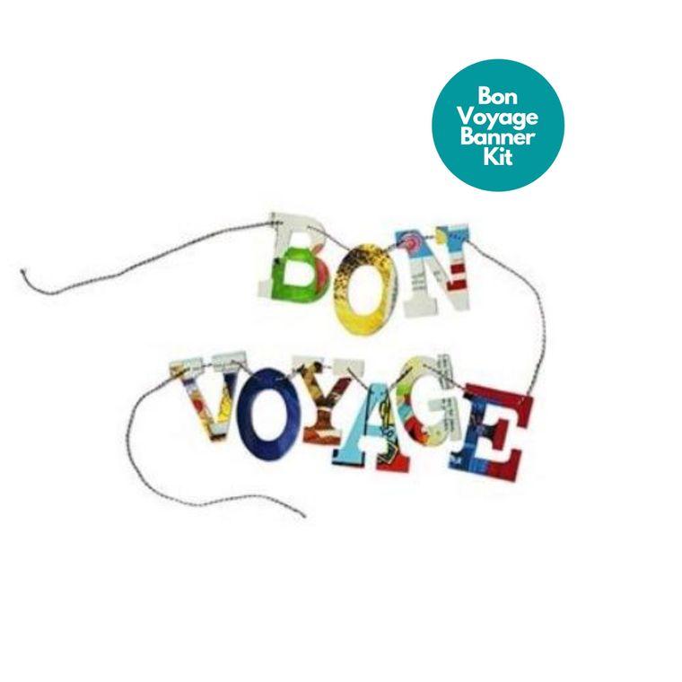 Phrase Garlands- BON VOYAGE