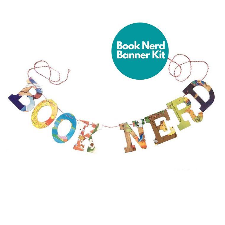 Phrase Garlands- BOOK NERD
