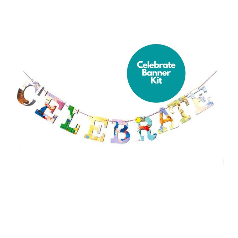 Phrase Garlands- Celebrate