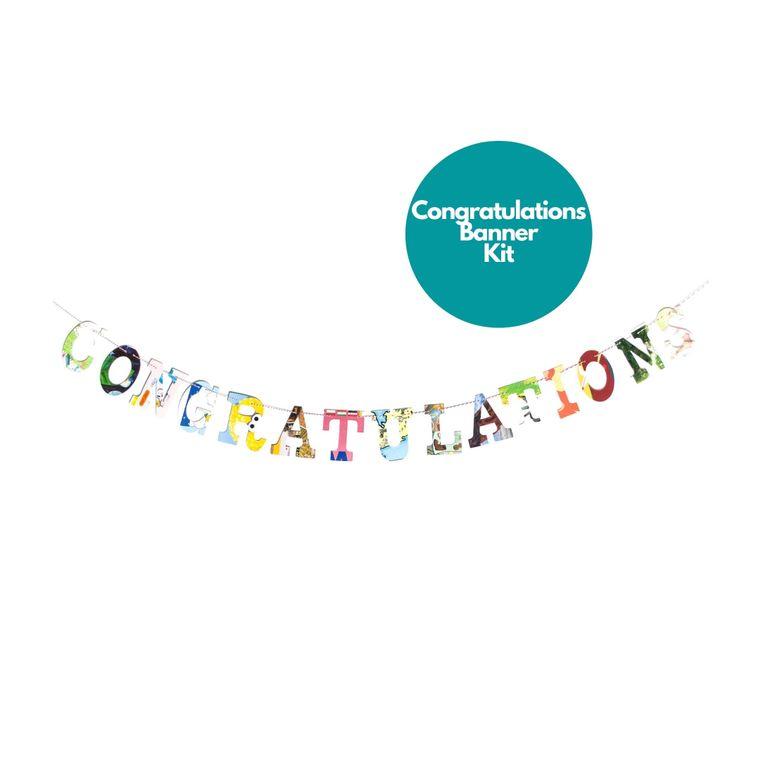 Phrase Garlands- Congratulations