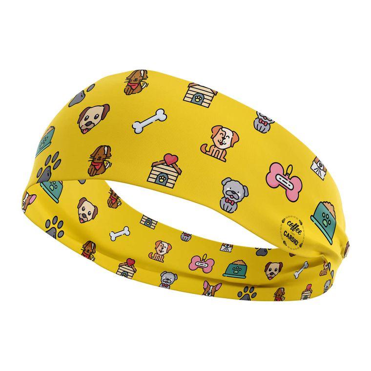 Yellow Doggy Headband