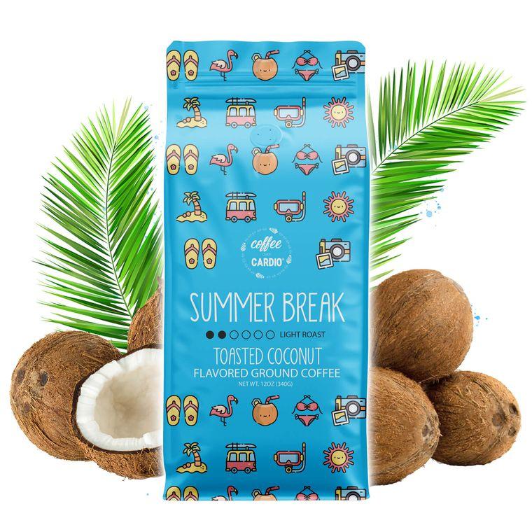 Summer Break- Toasted Coconut Ground Coffee