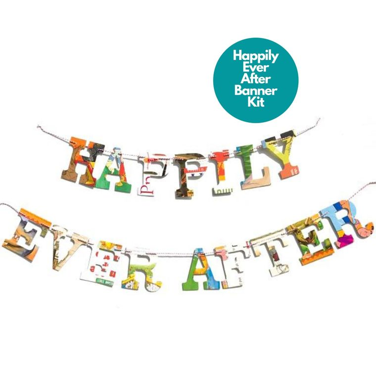 Phrase Garlands- Happily Ever After