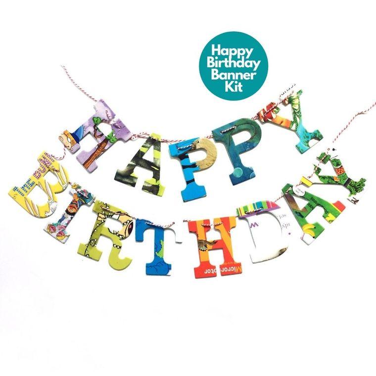 Phrase Garlands- Happy Birthday