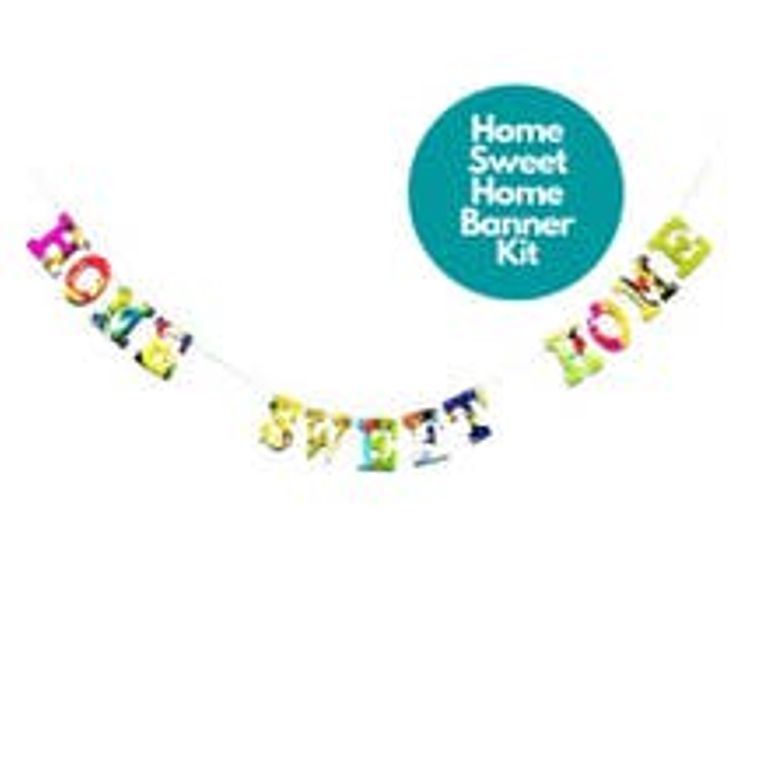 Phrase Garlands- Home Sweet Home