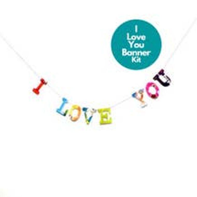 Phrase Garlands- I Love You