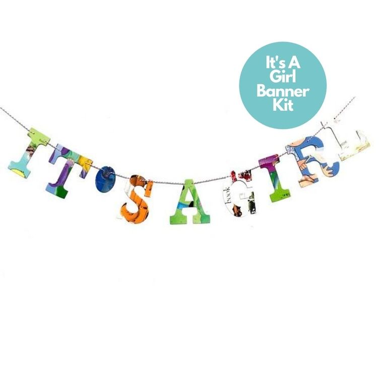 Phrase Garlands- It's A Girl