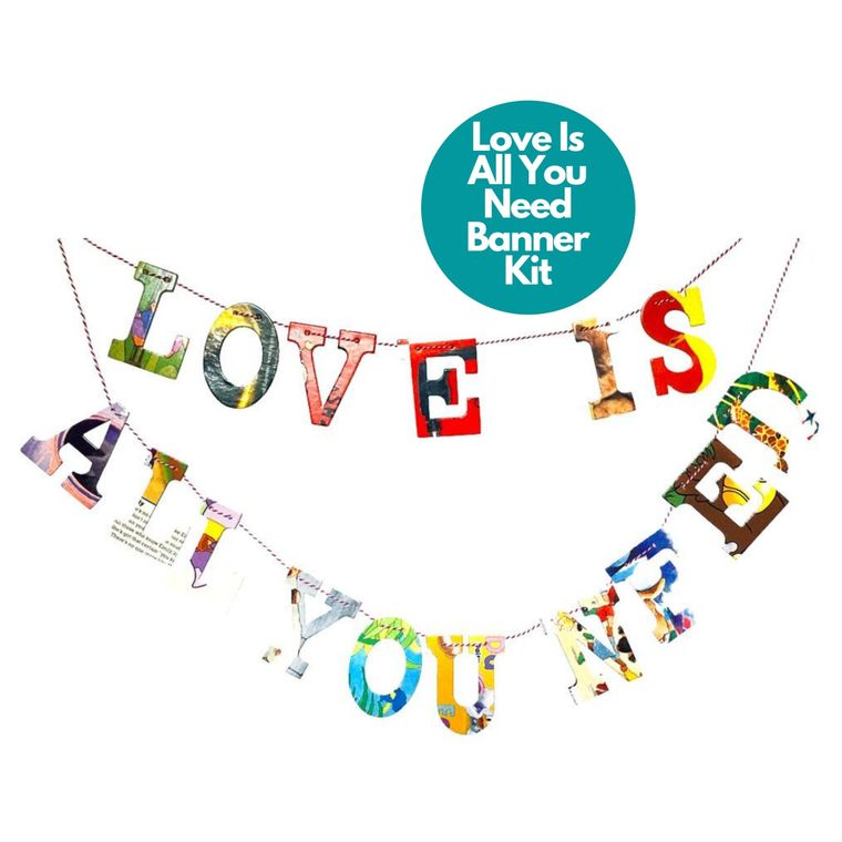Phrase Garlands- Love Is All You Need