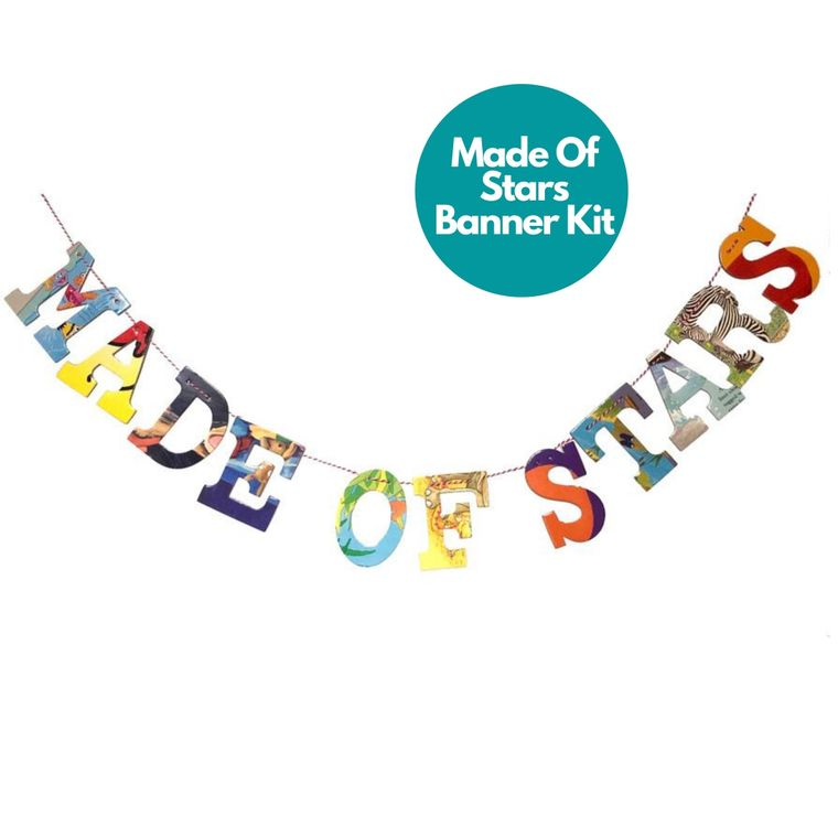 Phrase Garlands- Made of Stars