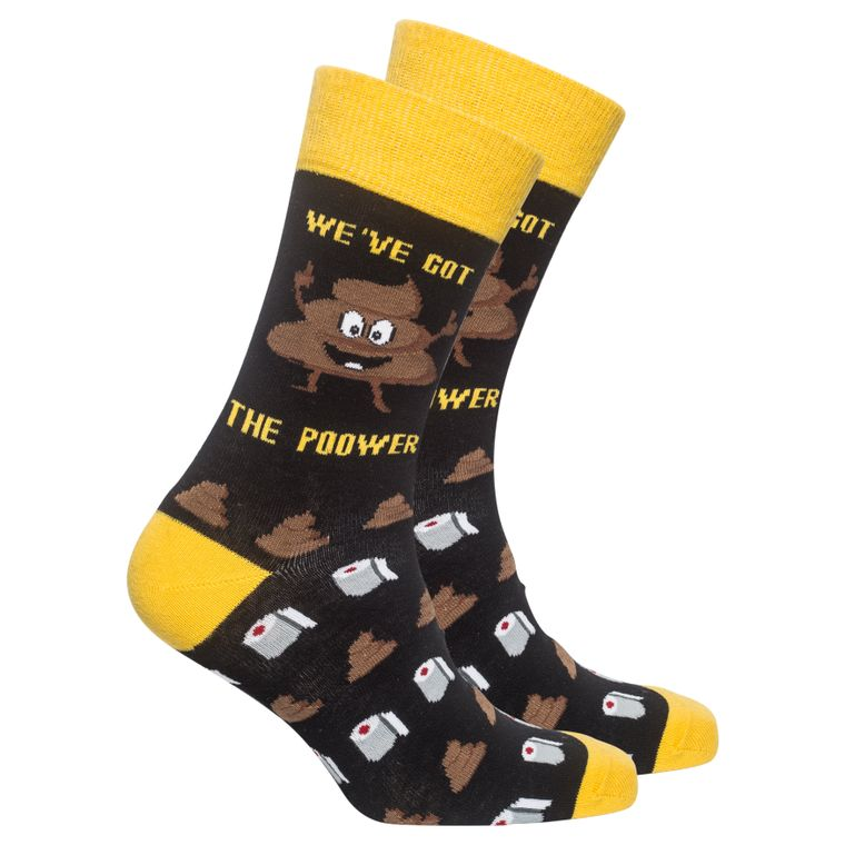 Men's The 'Poo'wer Socks