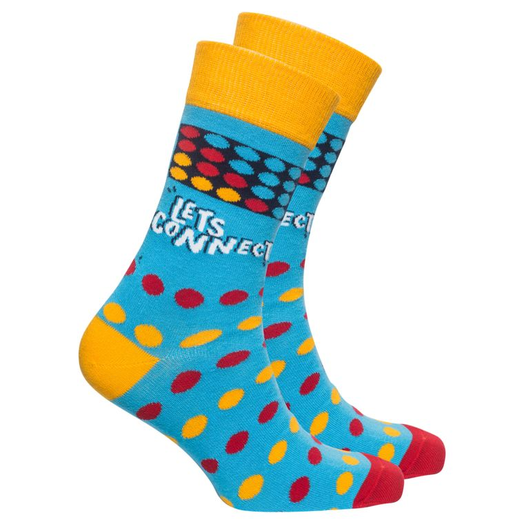 Men's Let's Connect Socks