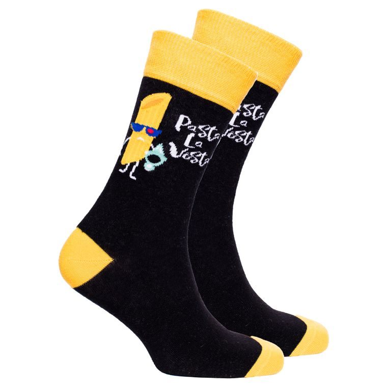 Men's Pasta La Vista Socks