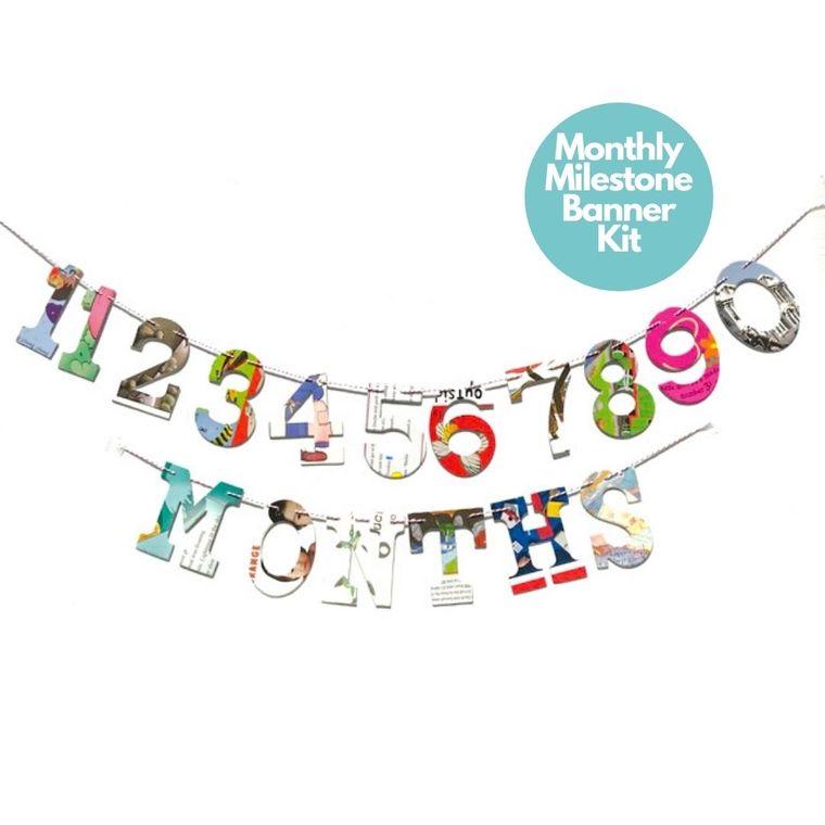 Phrase Garlands- Monthly Milestones
