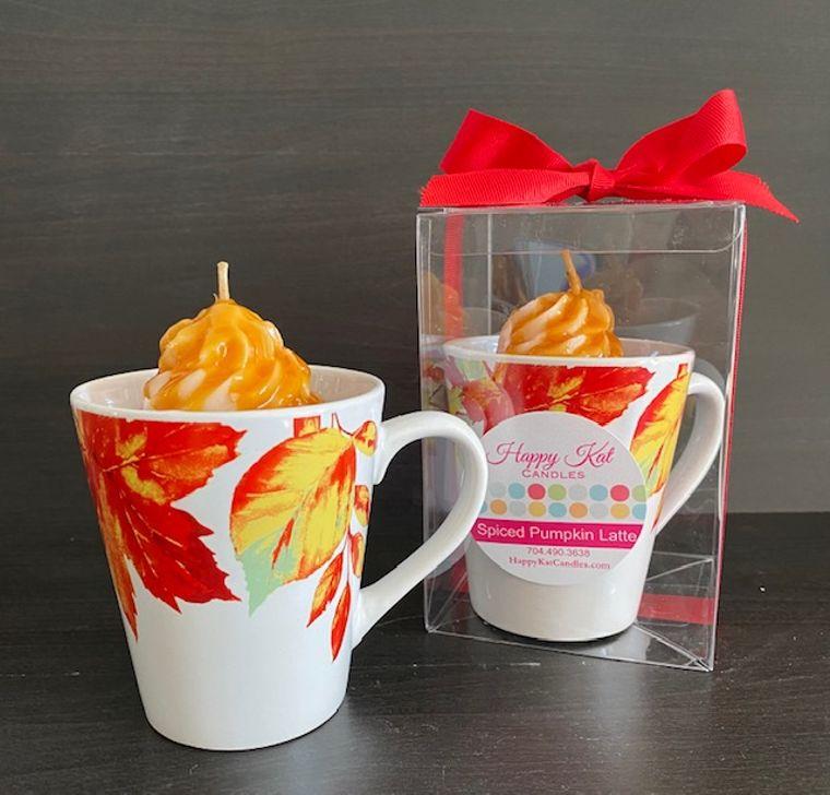 Spiced Pumpkin Latte Candle