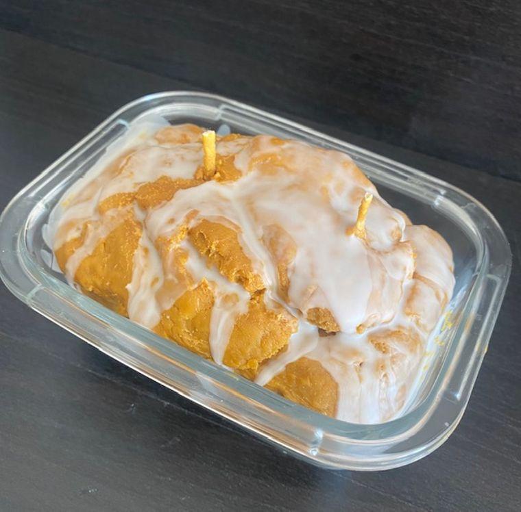 Pumpkin Bread Candle