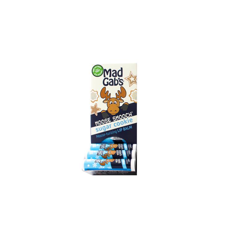 Organic Sugar Cookie Moose Smooch 24 Pc Display