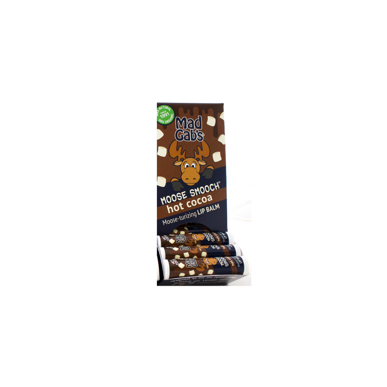Organic Hot Cocoa Moose Smooch 24 Pc Display