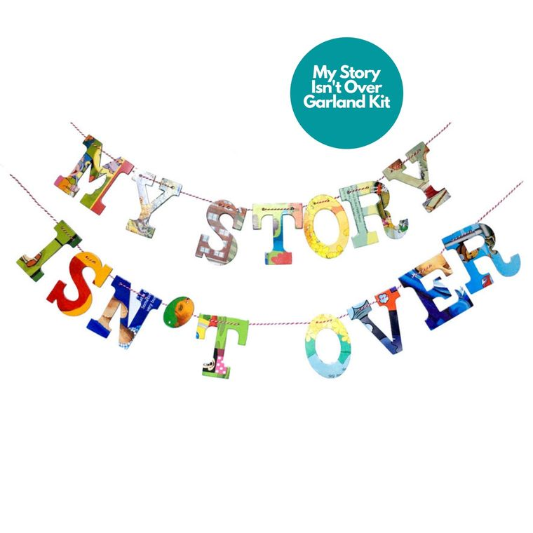 Phrase Garlands- My Story Isn't Over