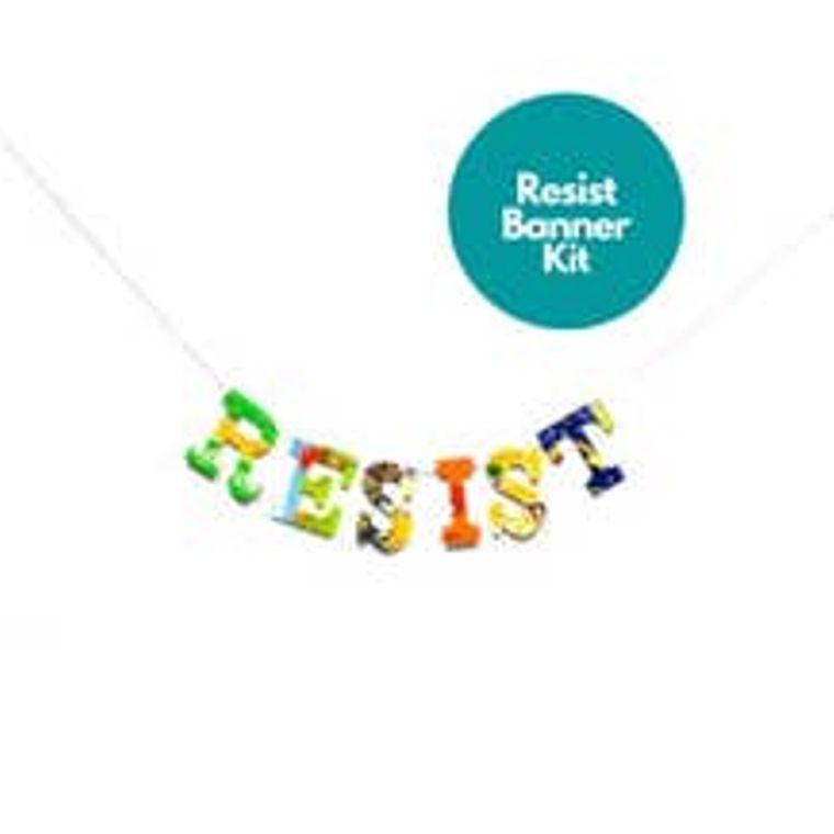 Phrase Garlands- Resist